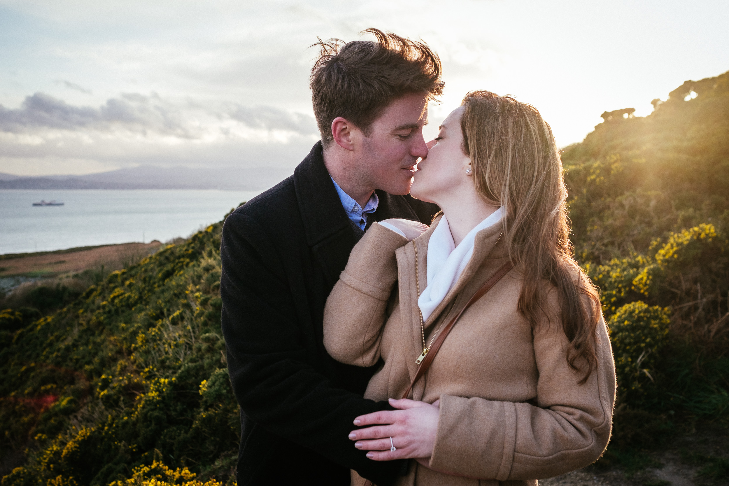 Surprise proposal at Howth Summit Dublin Photographer 26