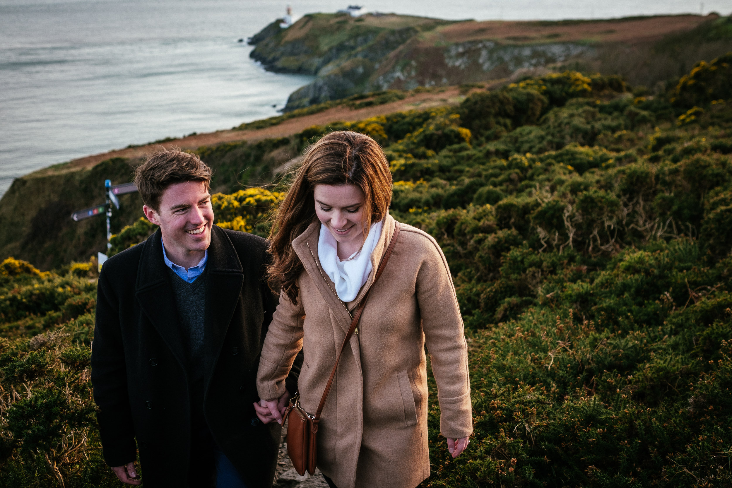 Surprise proposal at Howth Summit Dublin Photographer 27