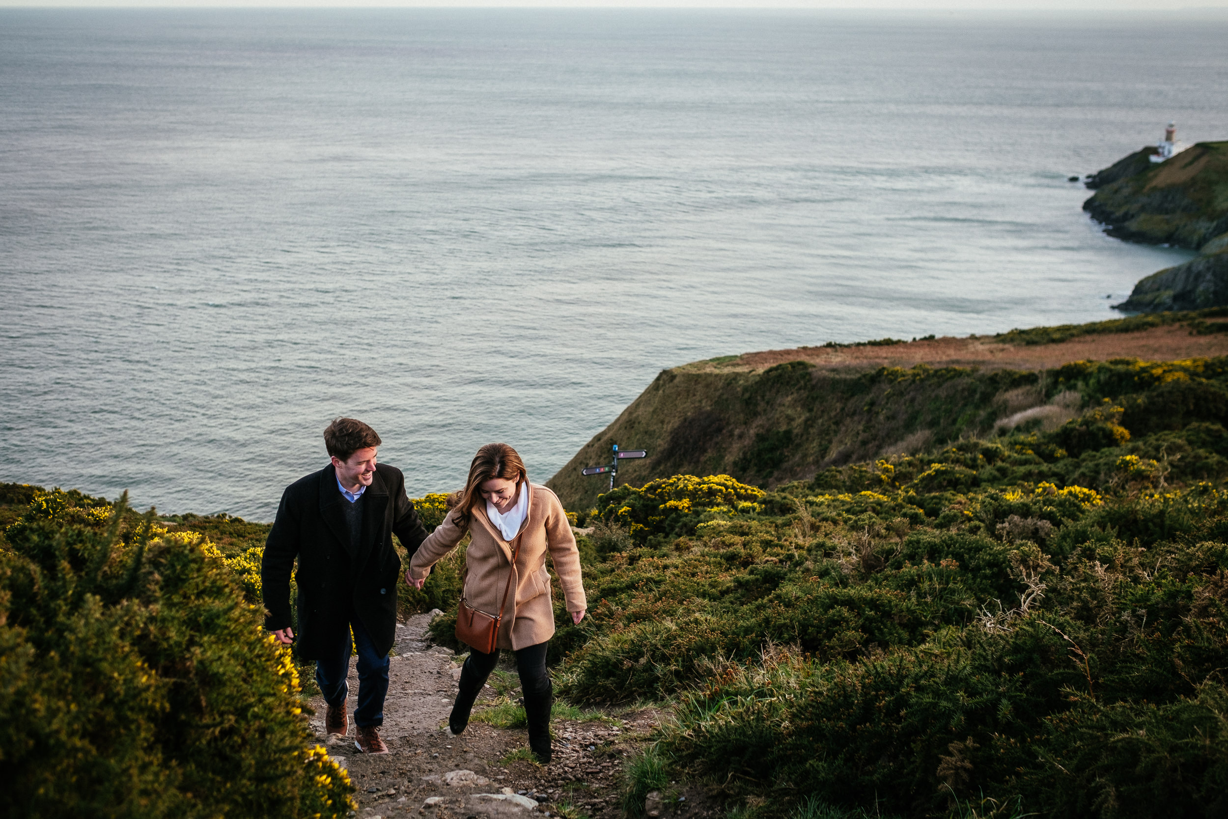 Surprise proposal at Howth Summit Dublin Photographer 28