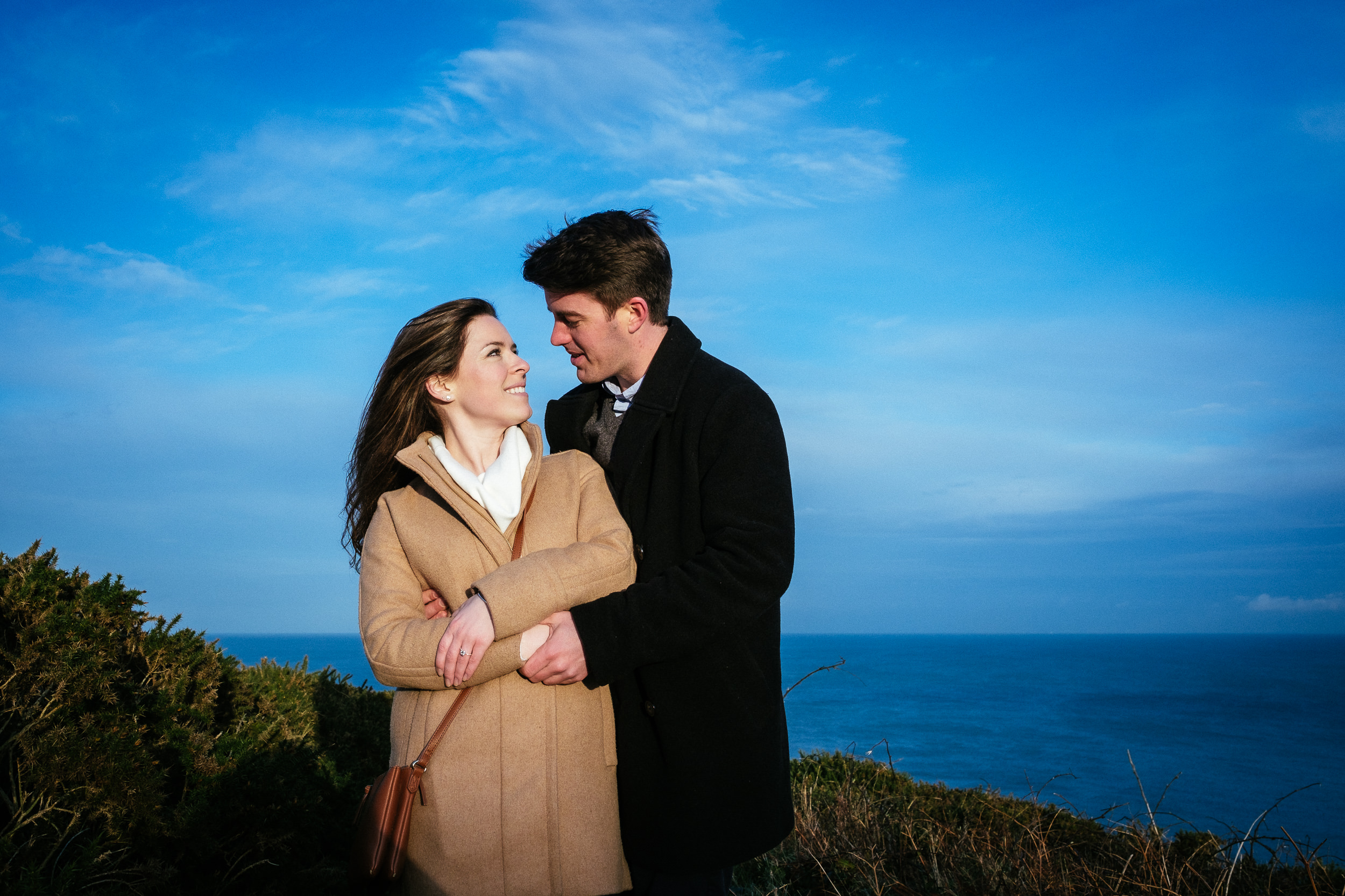 Surprise proposal at Howth Summit Dublin Photographer 29