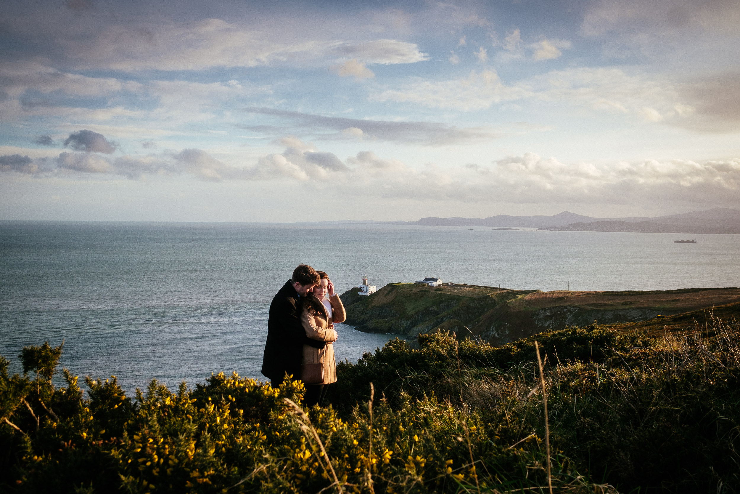 Surprise proposal at Howth Summit Dublin Photographer 30