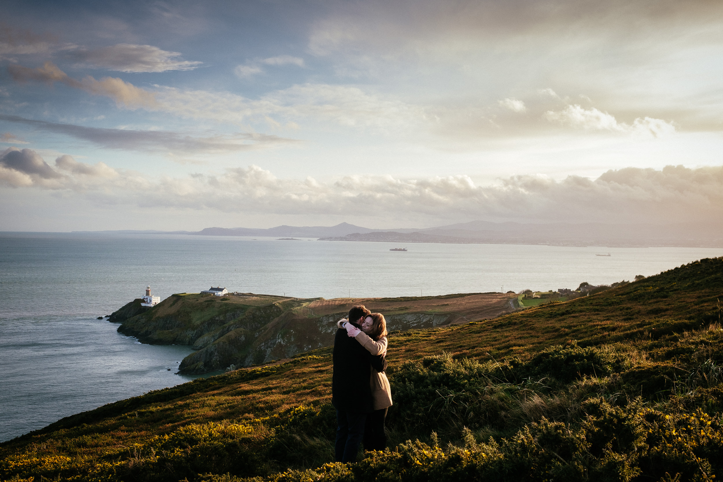 Surprise proposal at Howth Summit Dublin Photographer 32
