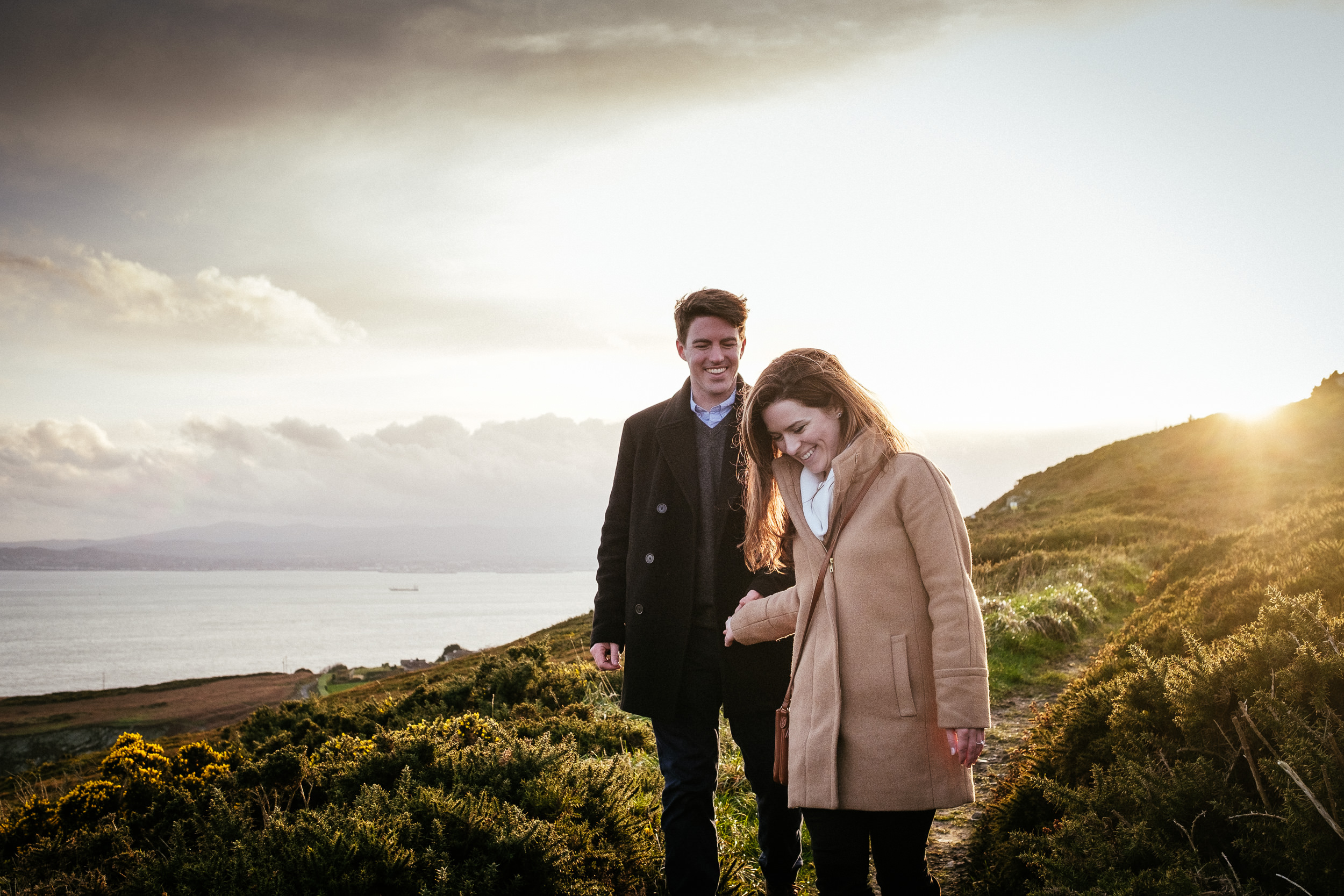 Surprise proposal at Howth Summit Dublin Photographer 36