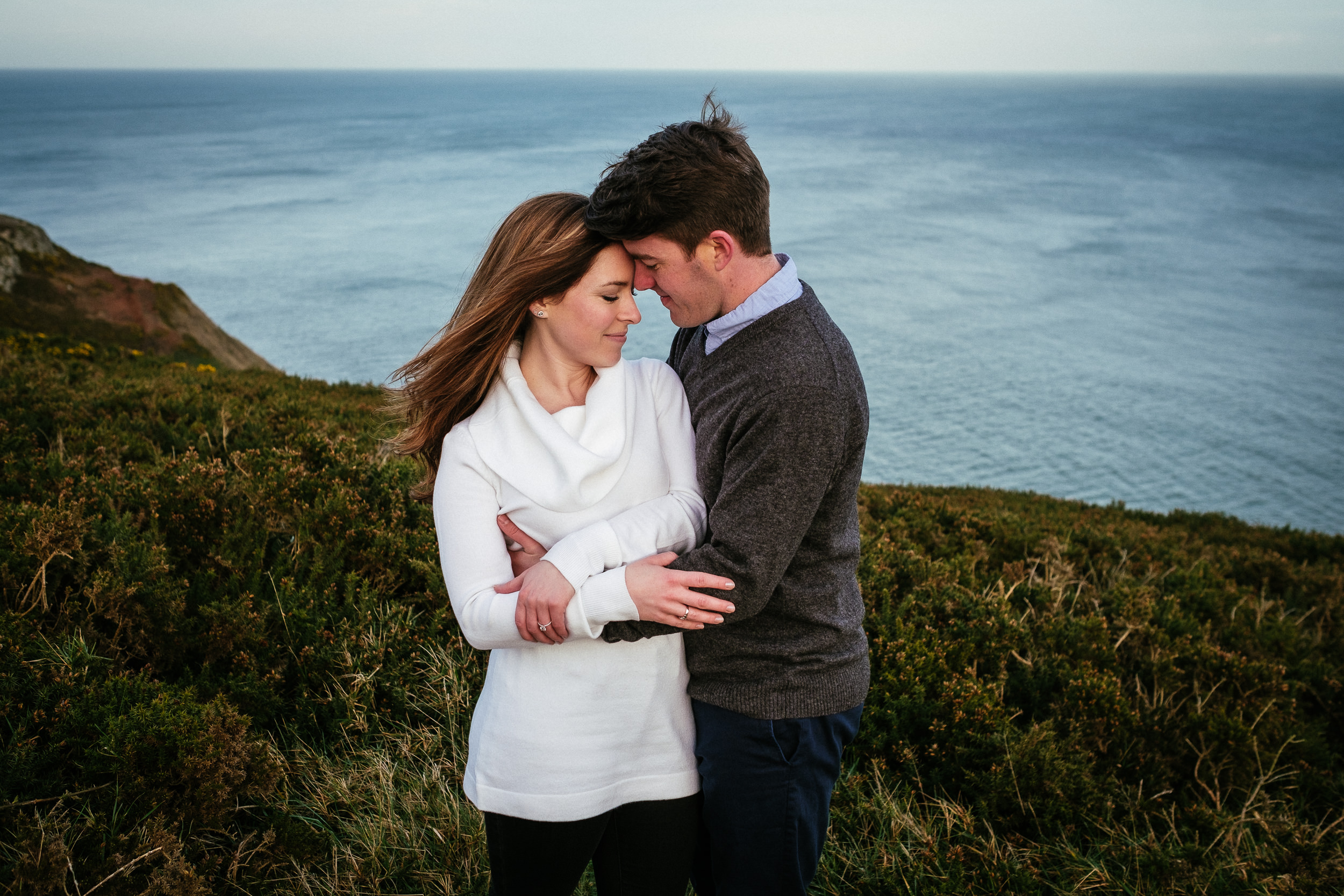 Surprise proposal at Howth Summit Dublin Photographer 39