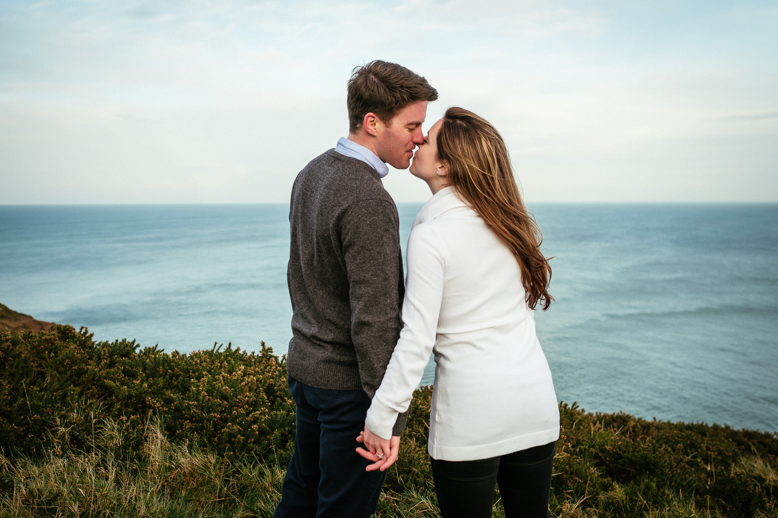 Surprise proposal at Howth Summit Dublin Photographer 42