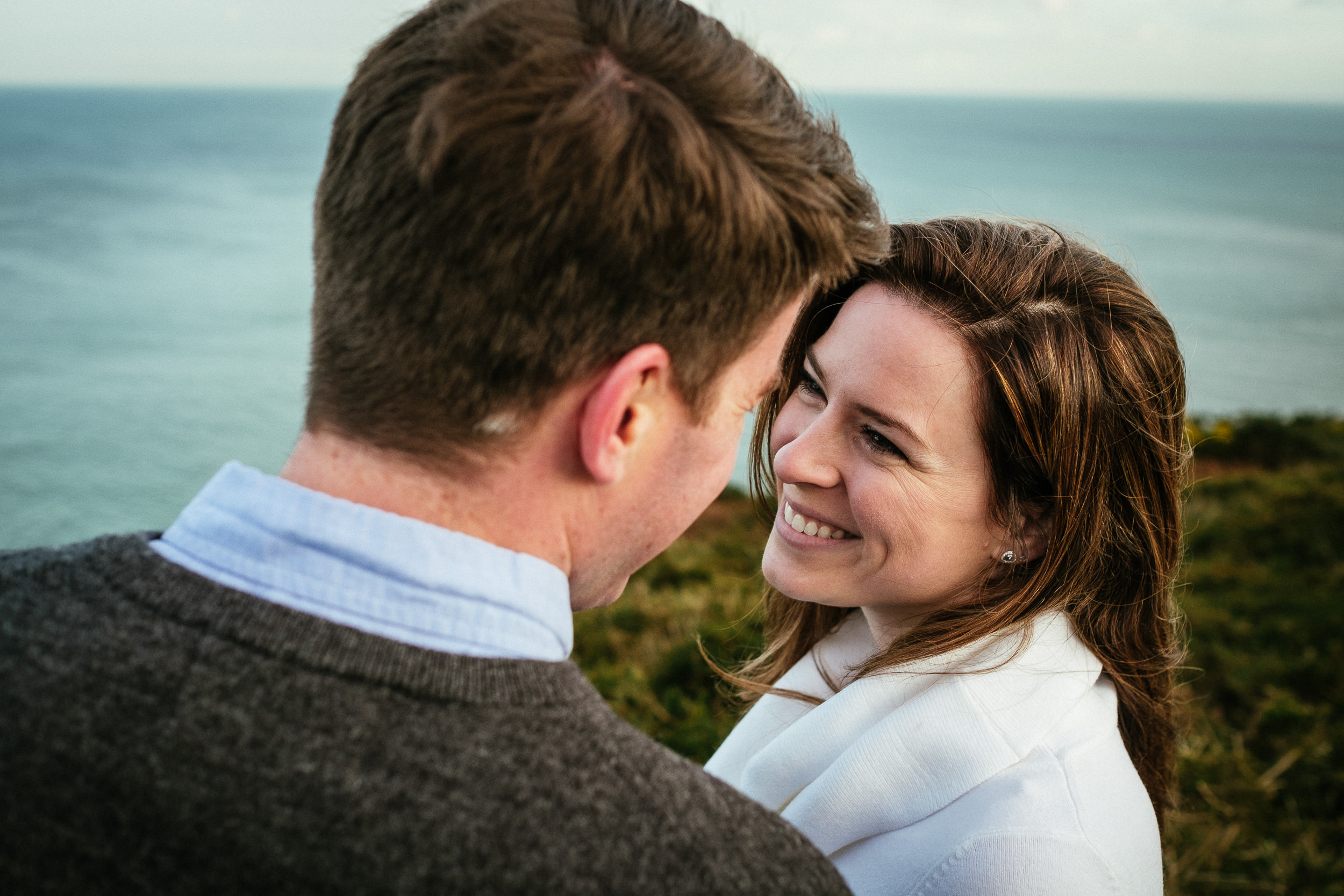 Surprise proposal at Howth Summit Dublin Photographer 44