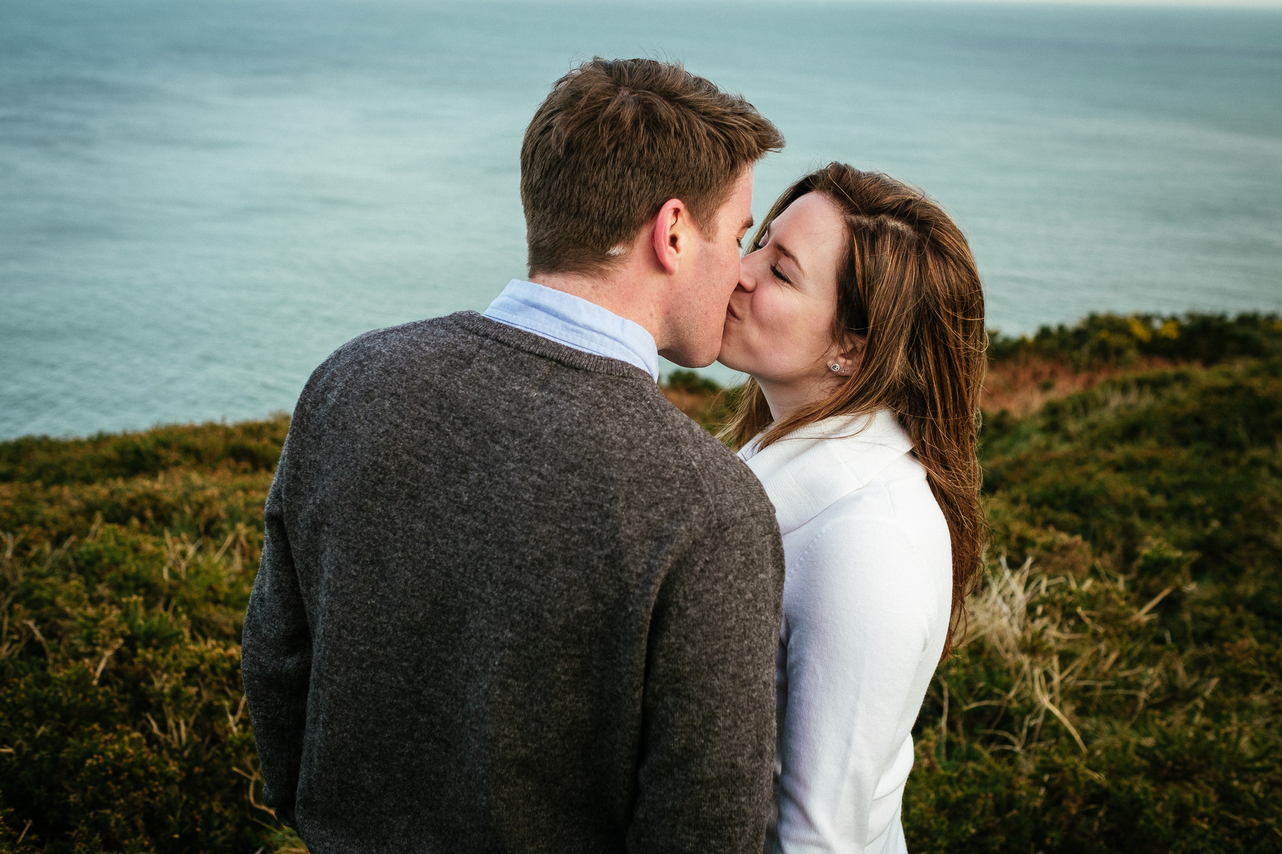 Surprise proposal at Howth Summit Dublin Photographer 45
