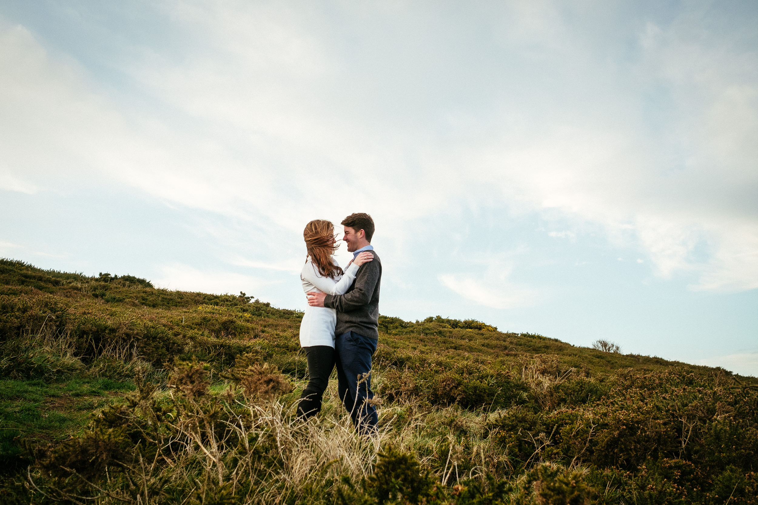 Surprise proposal at Howth Summit Dublin Photographer 46