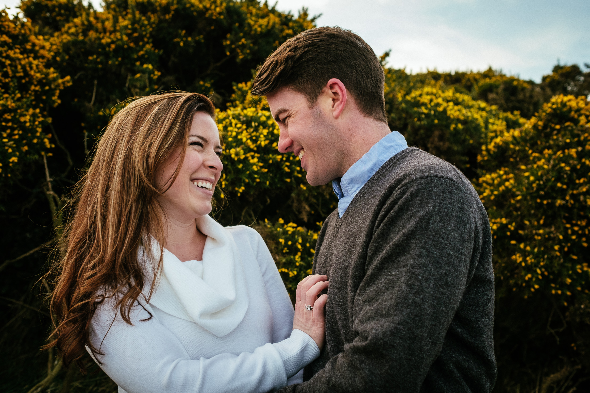 Surprise proposal at Howth Summit Dublin Photographer 48