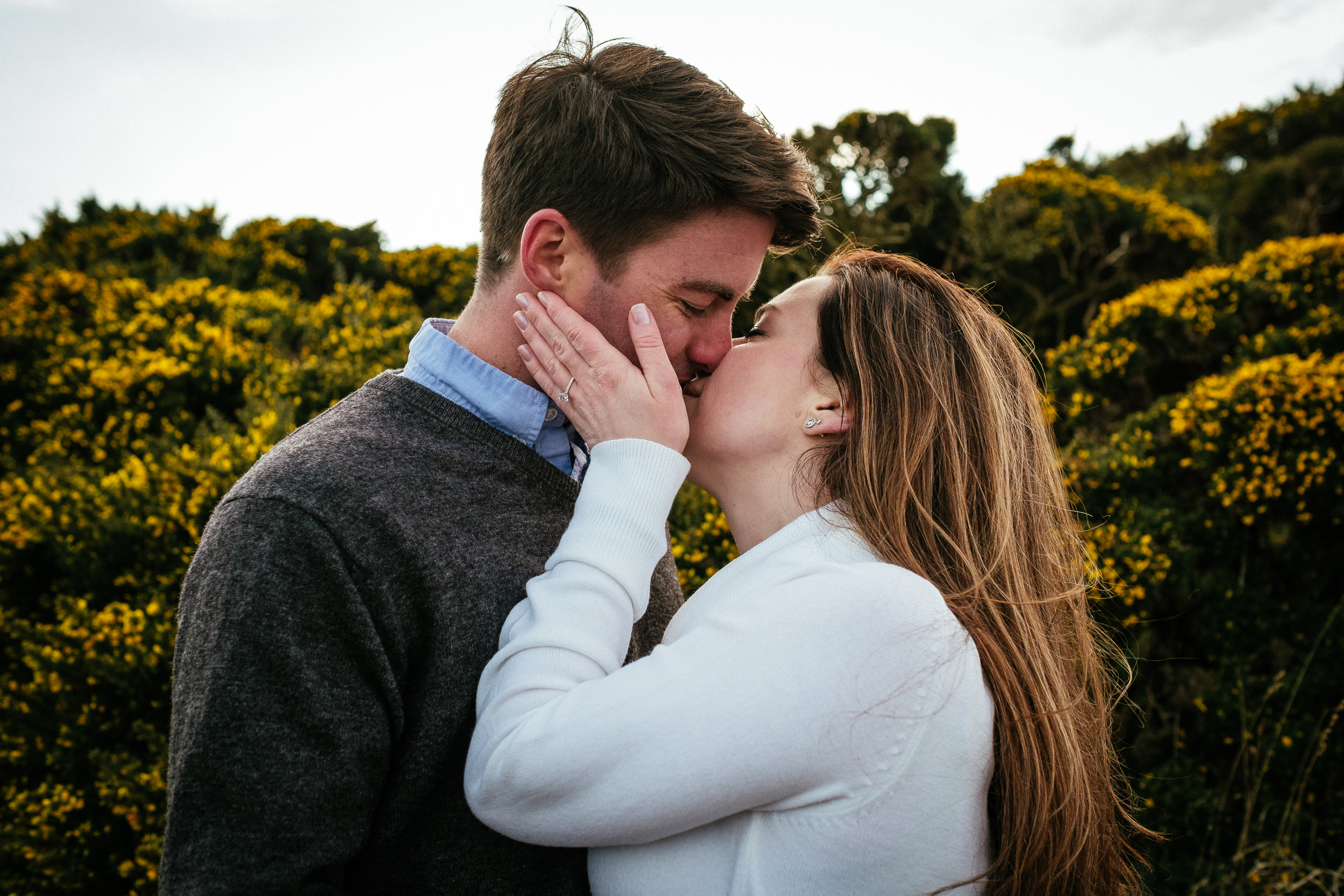 Surprise proposal at Howth Summit Dublin Photographer 49