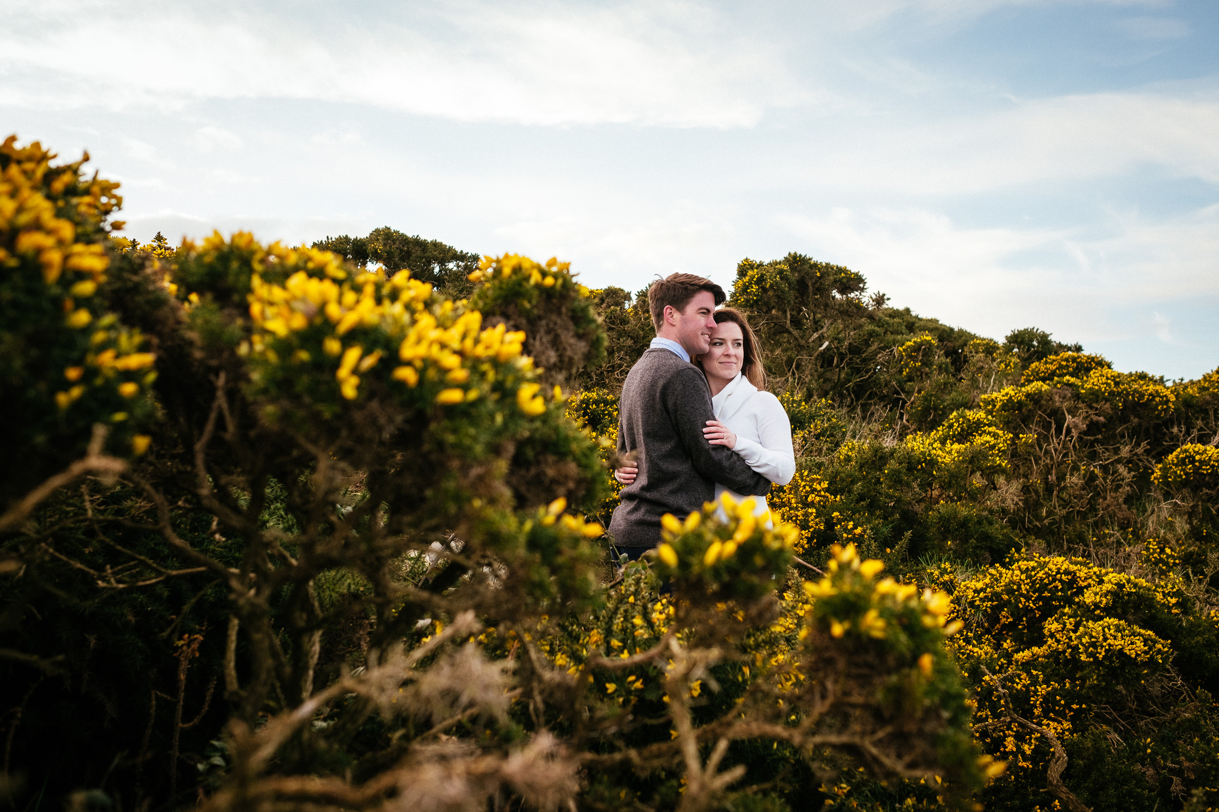 Surprise proposal at Howth Summit Dublin Photographer 51