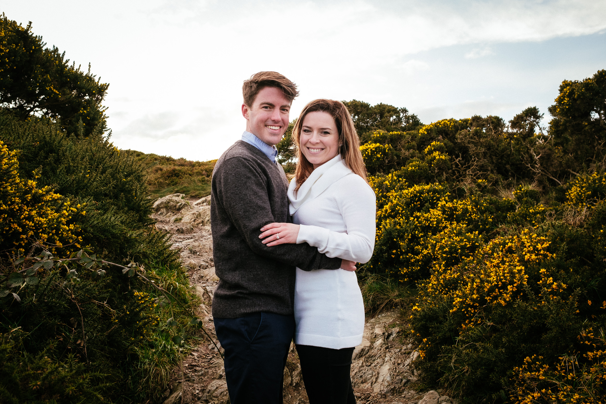 Surprise proposal at Howth Summit Dublin Photographer 52
