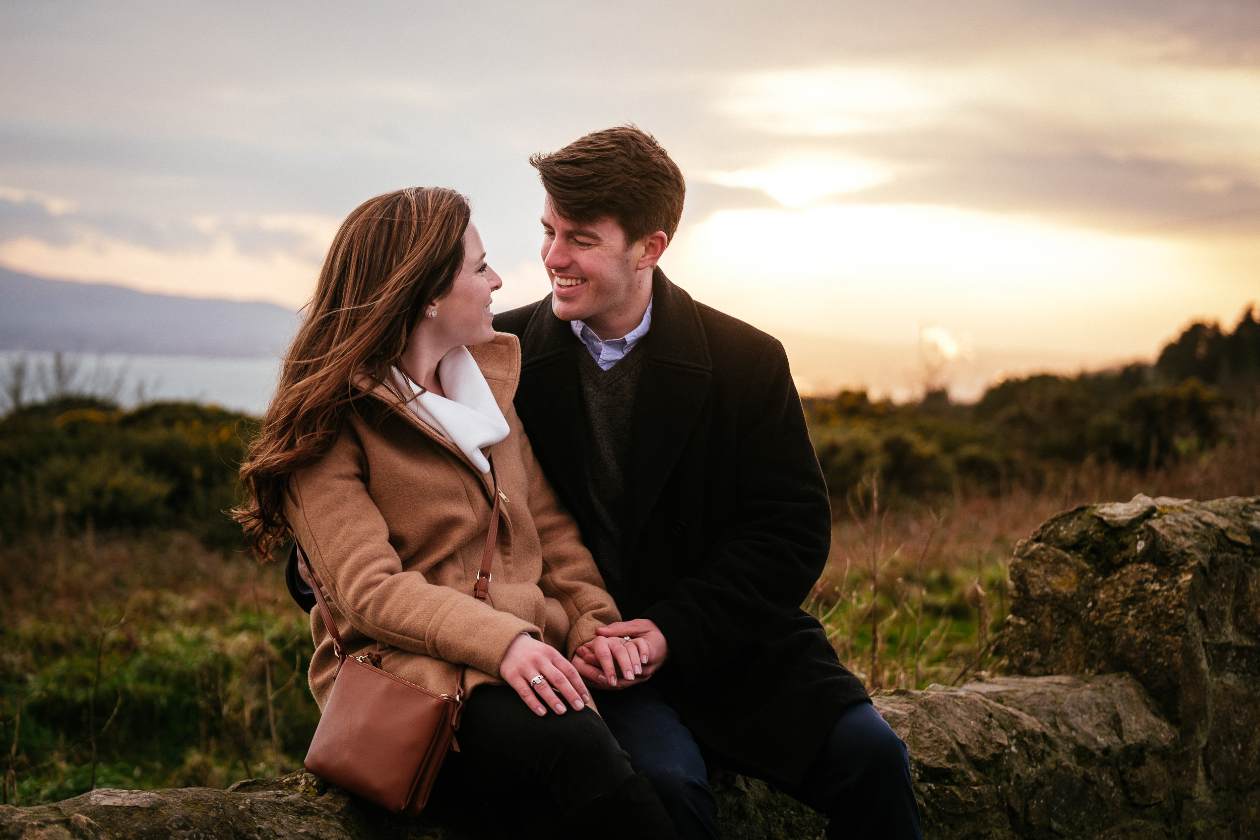Surprise proposal at Howth Summit Dublin Photographer 53