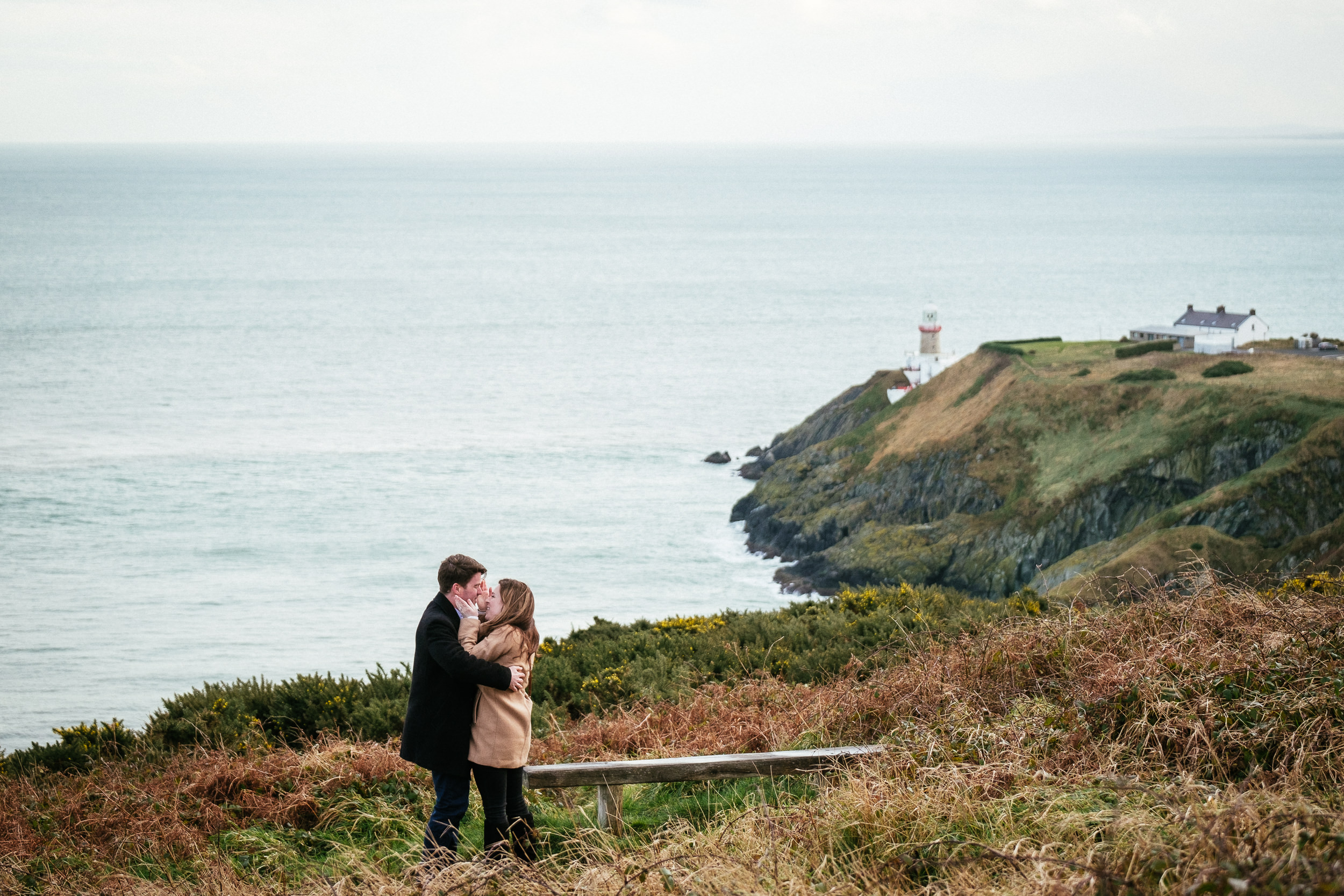 Surprise proposal at Howth Summit Dublin Photographer 7