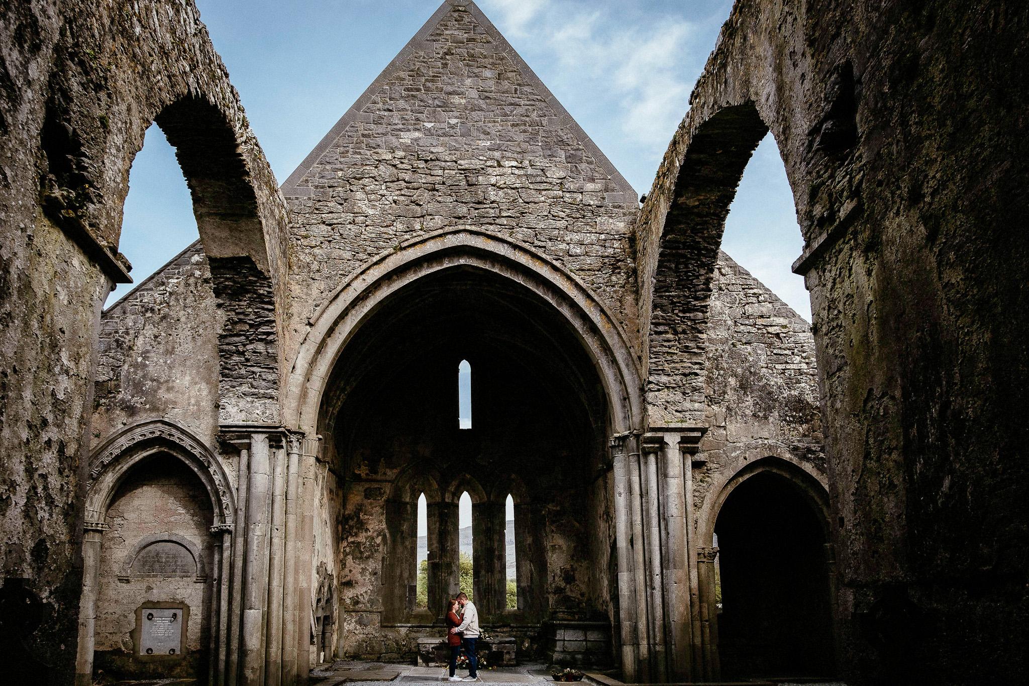 best elopement Photographer Corcomroe abbey 4