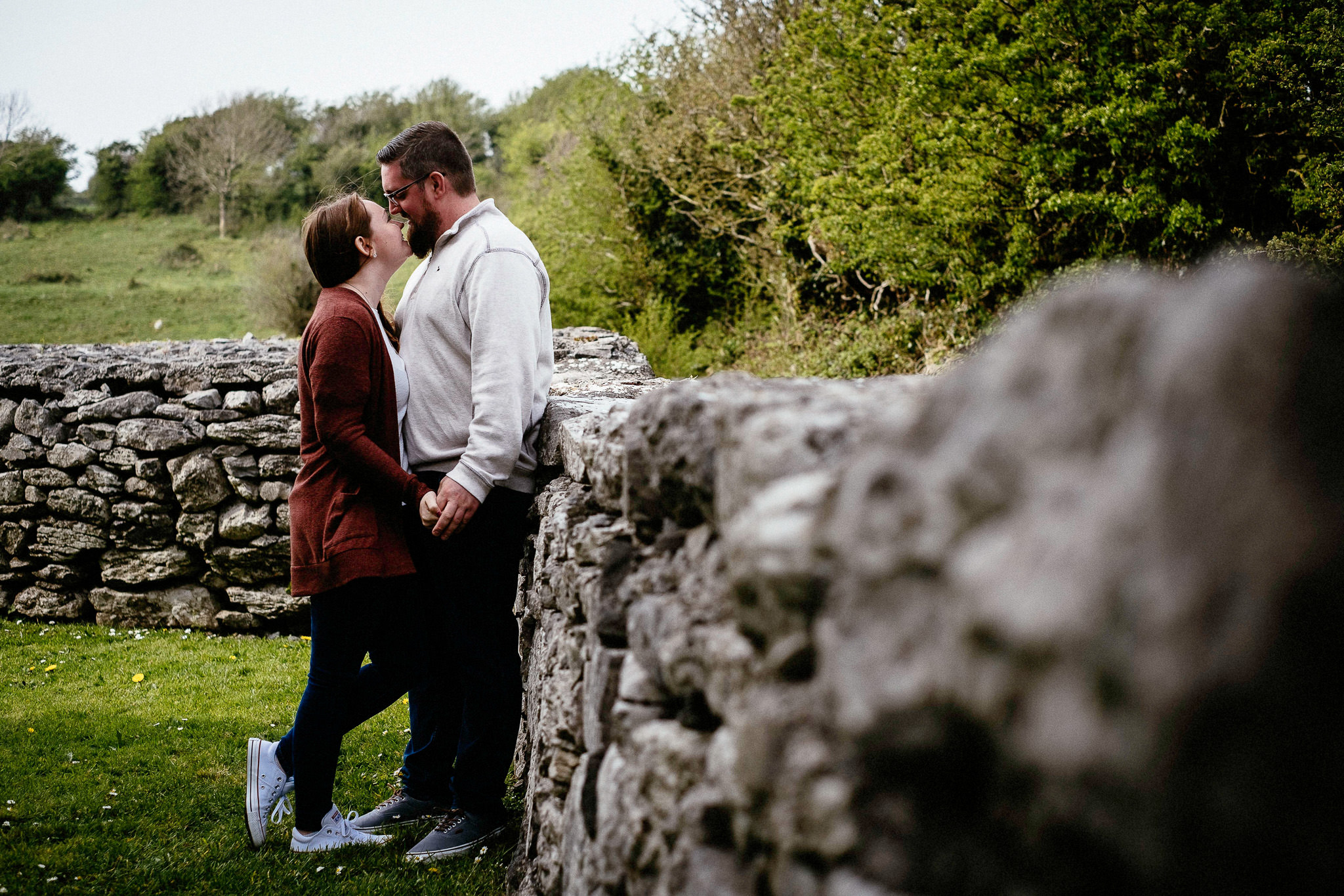 elopement wedding at corcomroe abbey