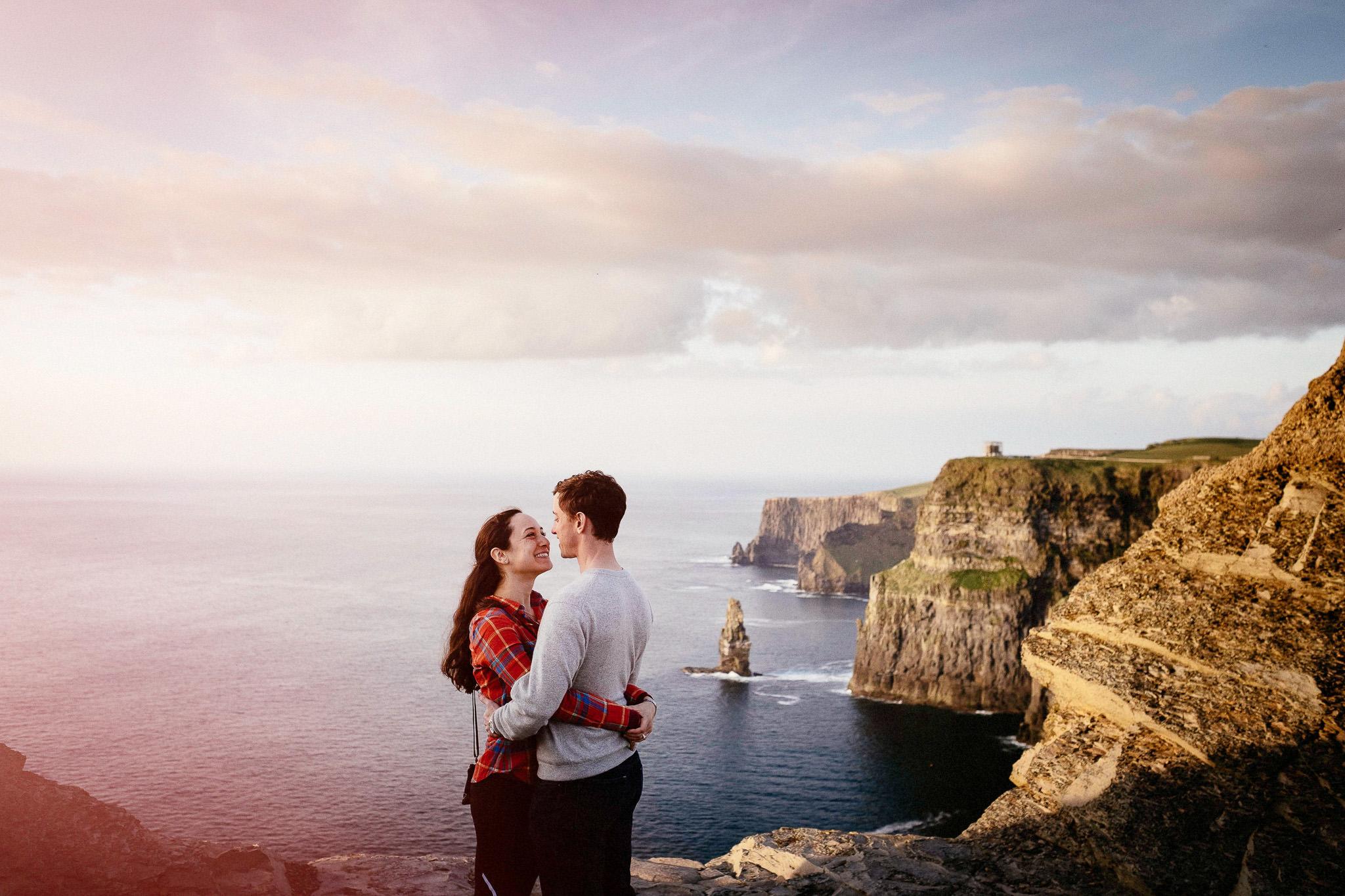 best elopement Photographer cliffs of moher 6