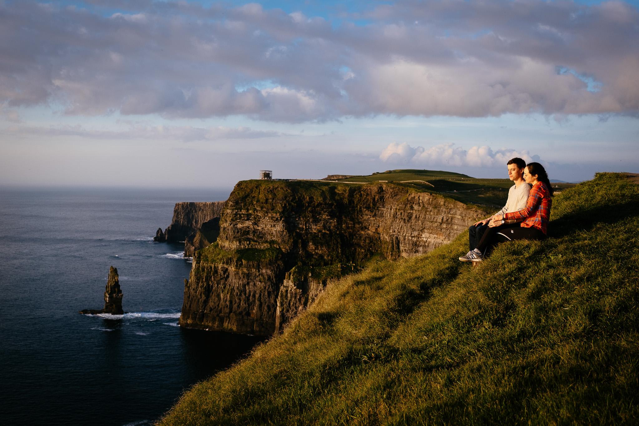 best elopement Photographer cliffs of moher 8