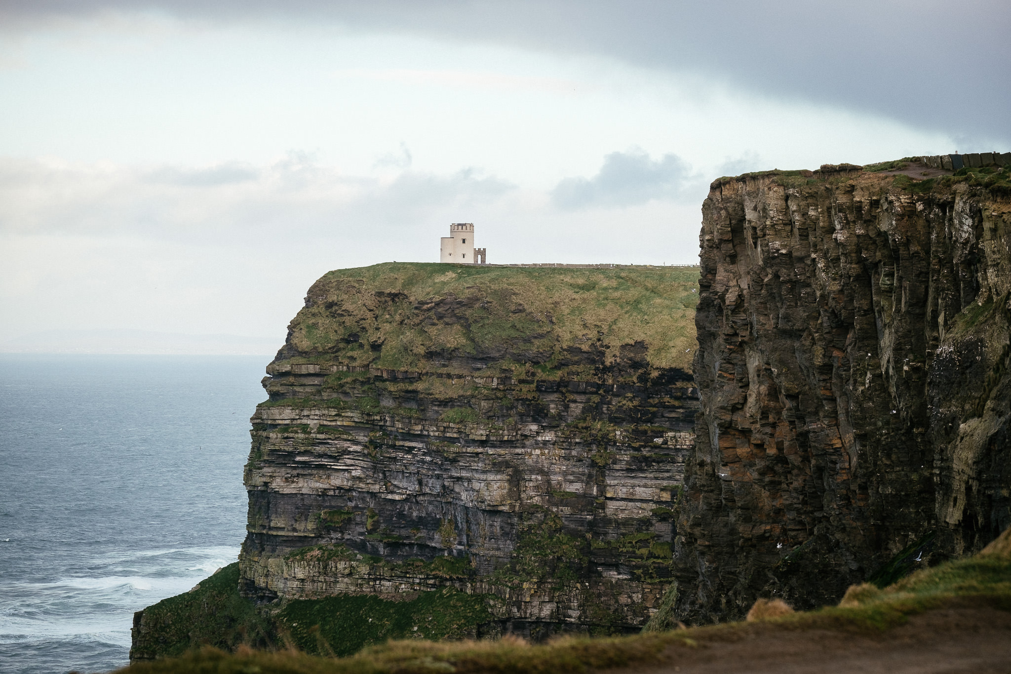 O'Briens tower at the Cliffs of Moher Ireland