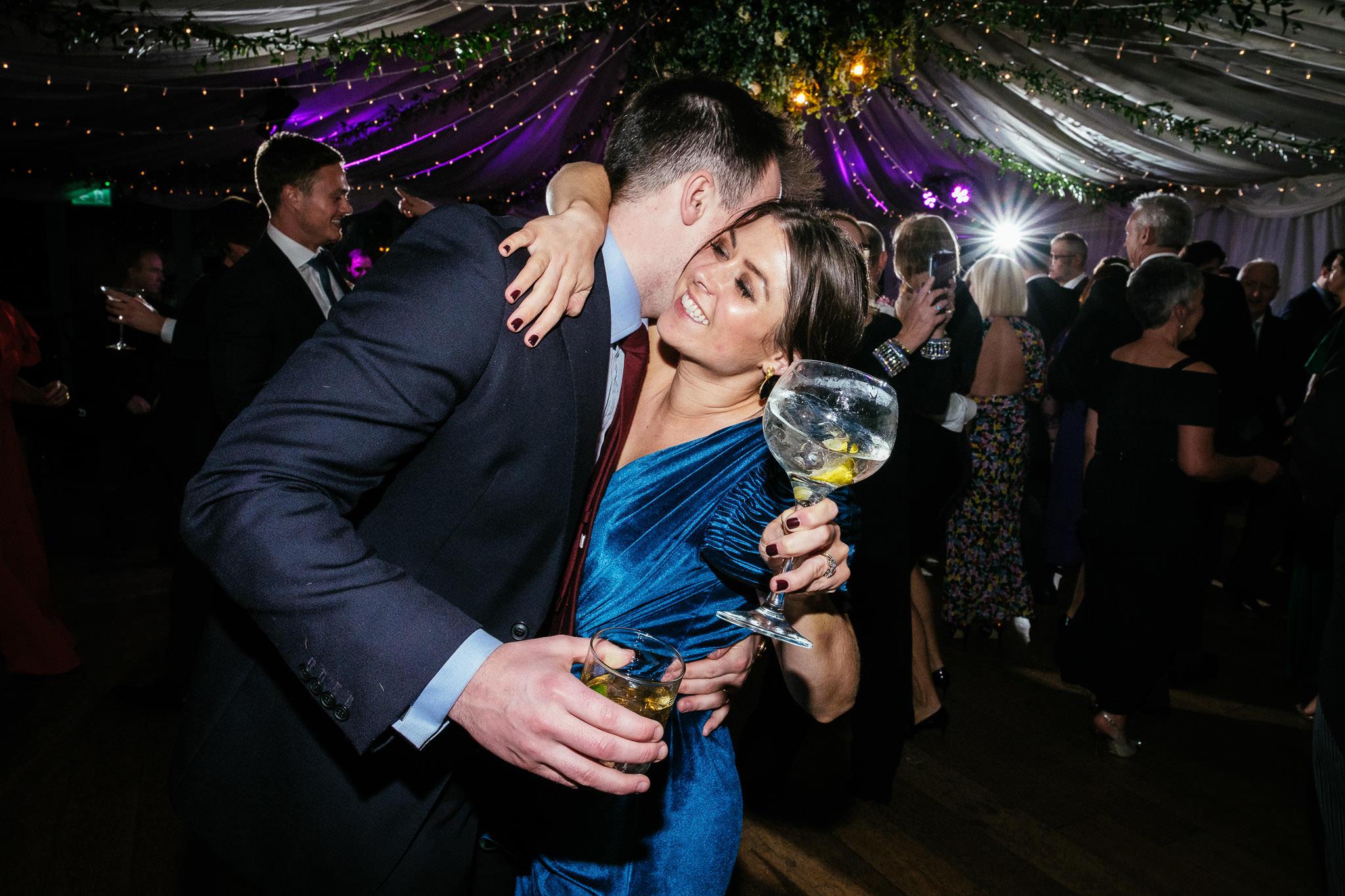couple dancing at Virginia Park Lodge wedding