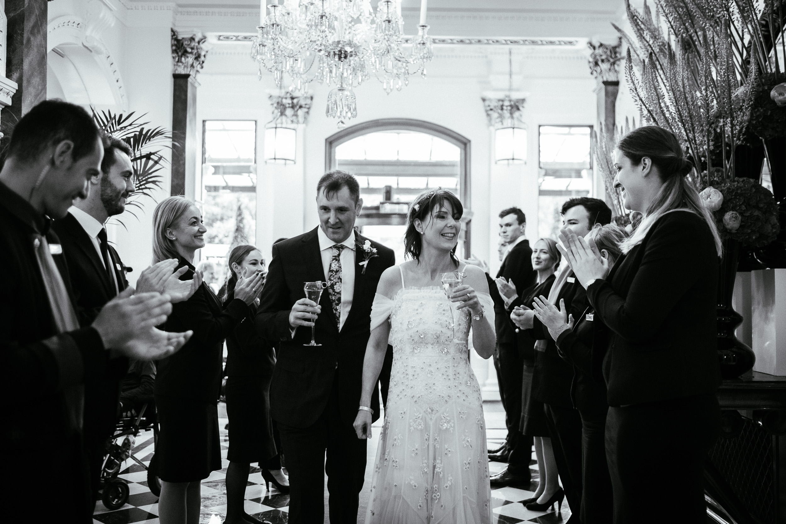 Dublin Unitarian Church Shelbourne Hotel Wedding Photographer 56