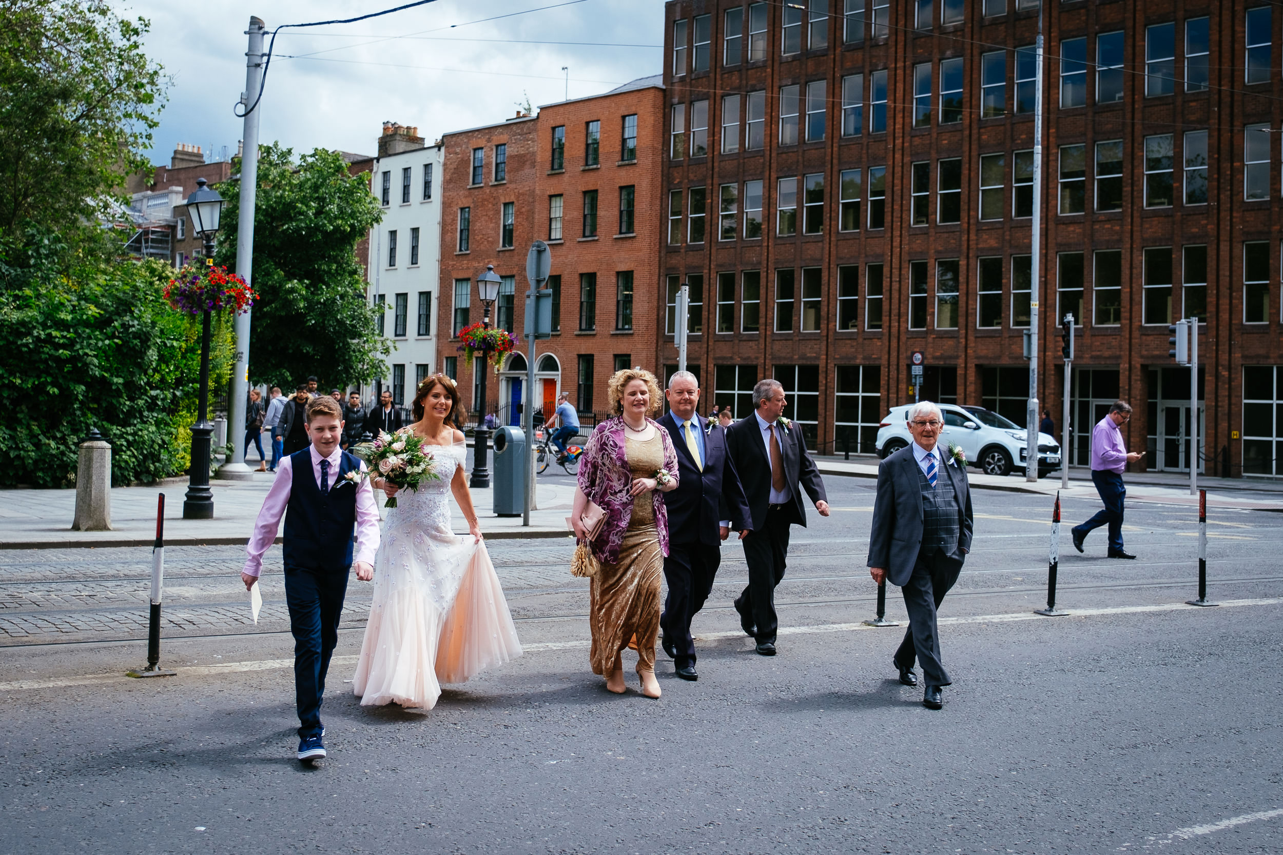 Dublin Unitarian Church Shelbourne Hotel Wedding Photographer 7