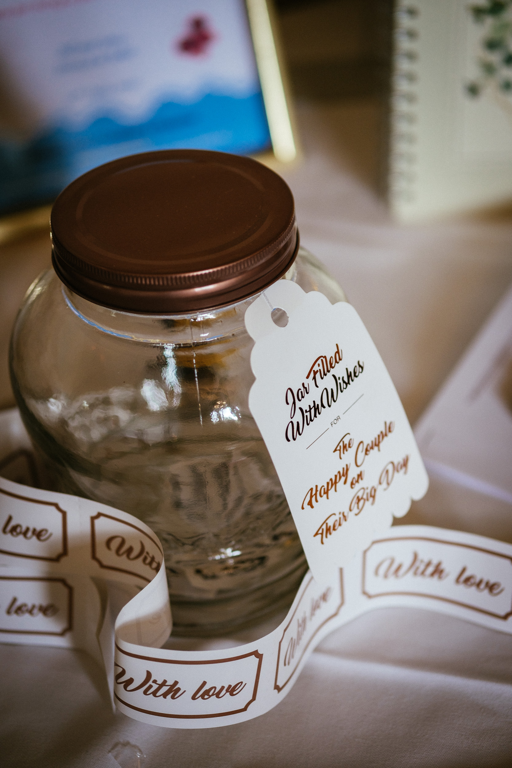 jar of sweets at killashee house hotel wedding