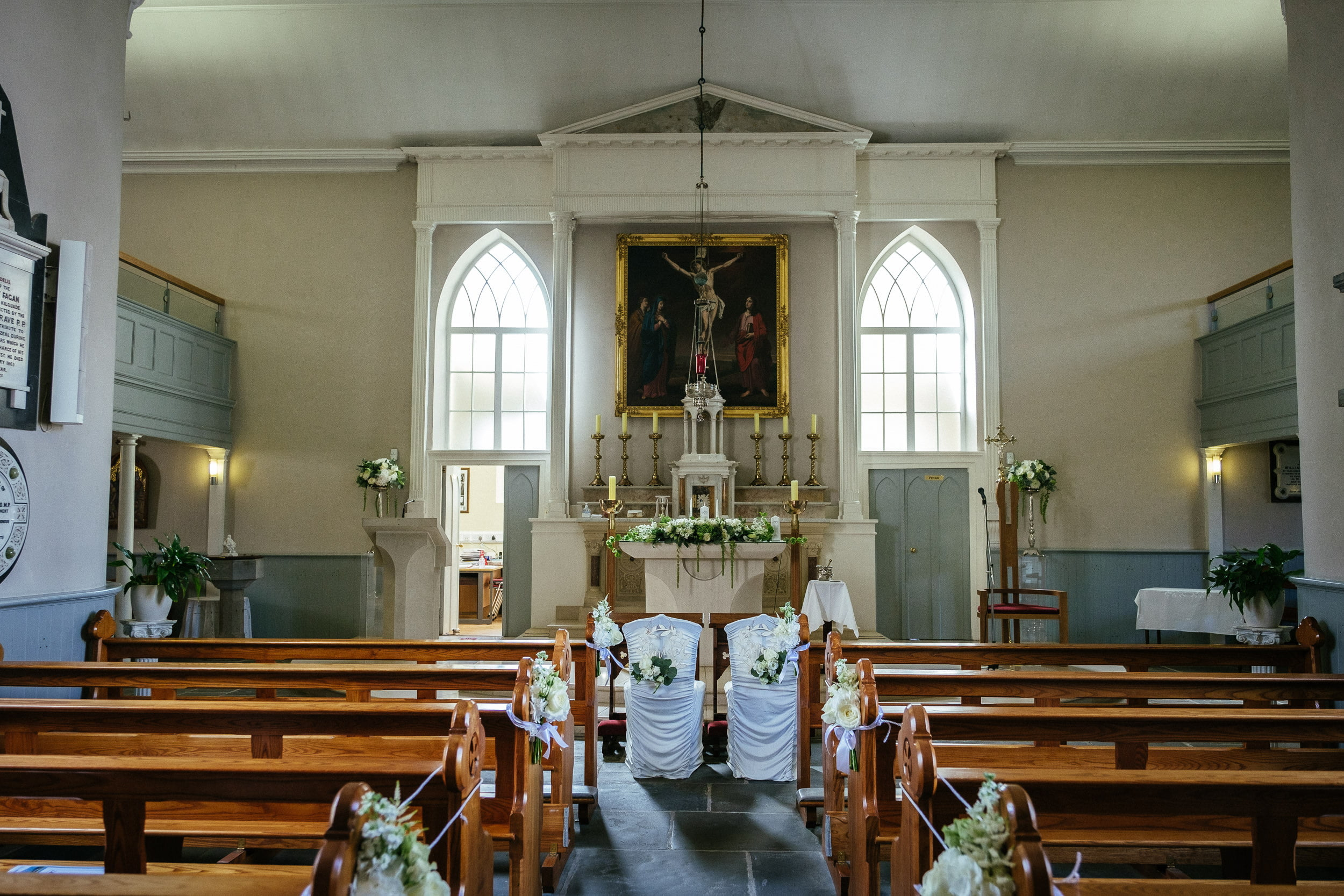 interior of St. Patrick's Church, Kilquade